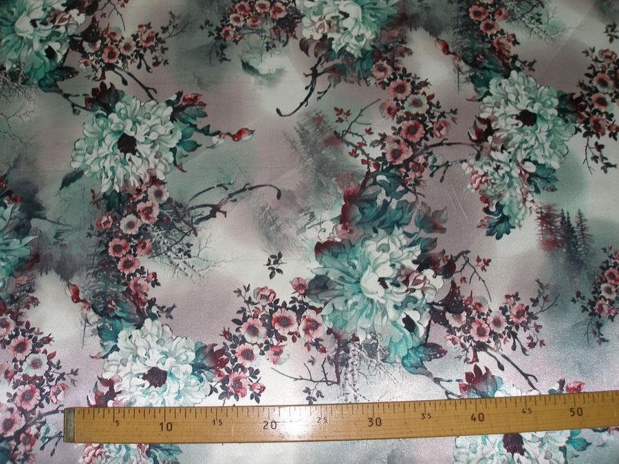 Японская хризантема, зеленый (подклад)