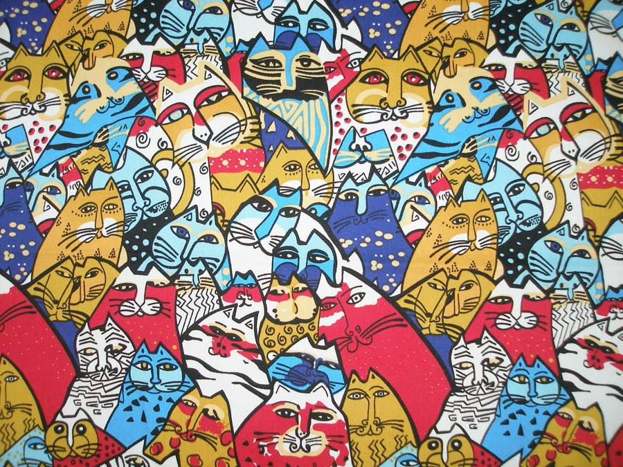 Кошки (сатин-стрейч)
