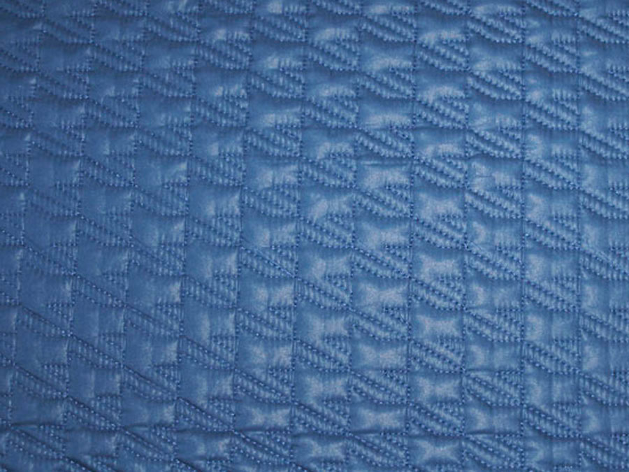 Лапка, цвет № 3, синий (курточная стежка)