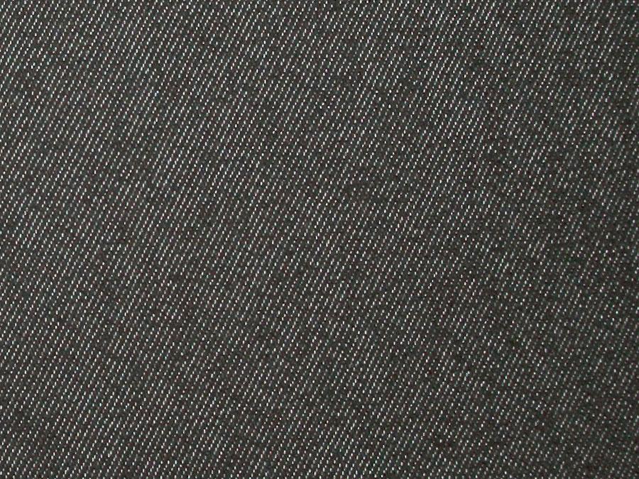 Джинса на флисе №1, серо-черная