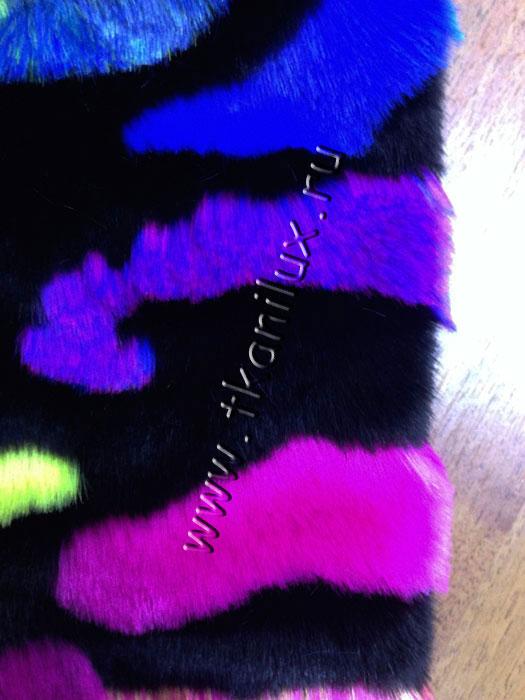 Цветная норка (иск.мех)