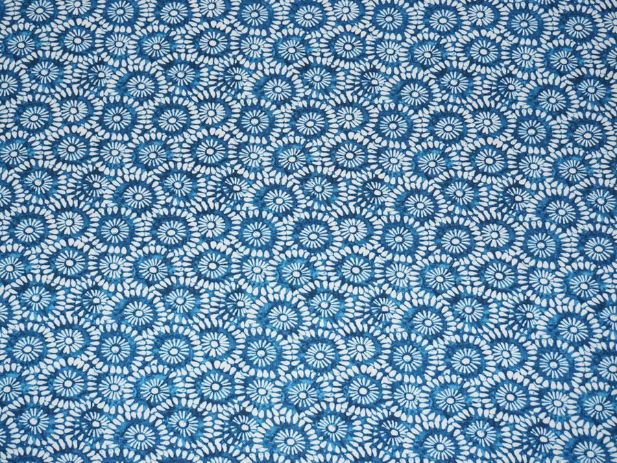 Синий лен (штапель)