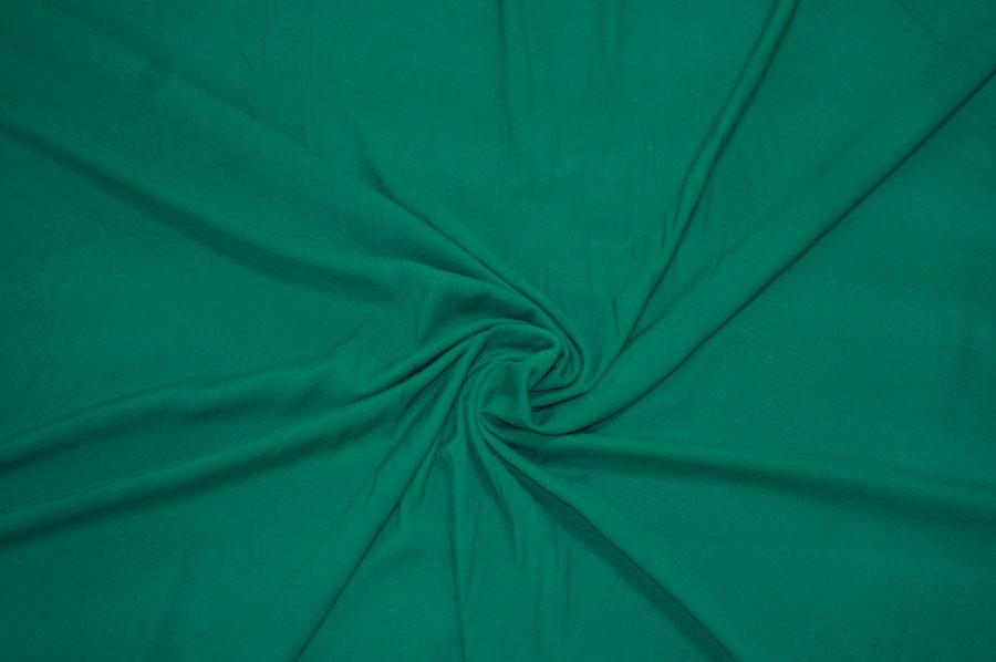 Штапель-стрейч, зеленый (штапель)