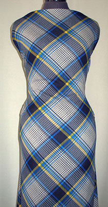 Весенняя шотландка №4 (трикотаж рома)