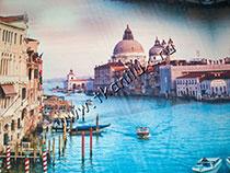 Утро в Венеции (иск.шелк-стрейч)