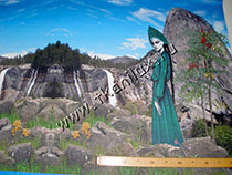 Хозяйка Медной горы (трикотаж милано-рома)