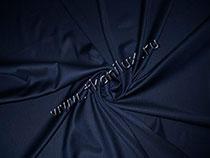 Габардин, темно-синий (костюмная ткань)