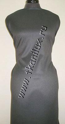 Габардин, темно-серый (костюмная ткань)