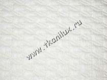 Лапка, цвет № 2, белый (курточная стежка)