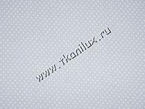 Мелкий горошек, серый (штапель)