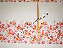 Первые цветы (сатин-стрейч)